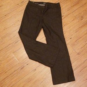 The Loft: Size 10 Modern Trouser Dressy Denim